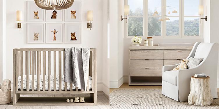 Landry Panel Crib Collection Rh Baby Child