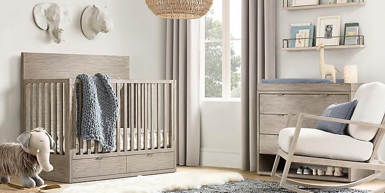 Landry Storage Conversion Crib Collection Rh Baby Child
