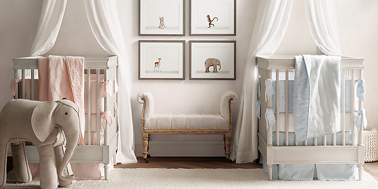 Airin Spindle Crib Collection Rh Baby Child