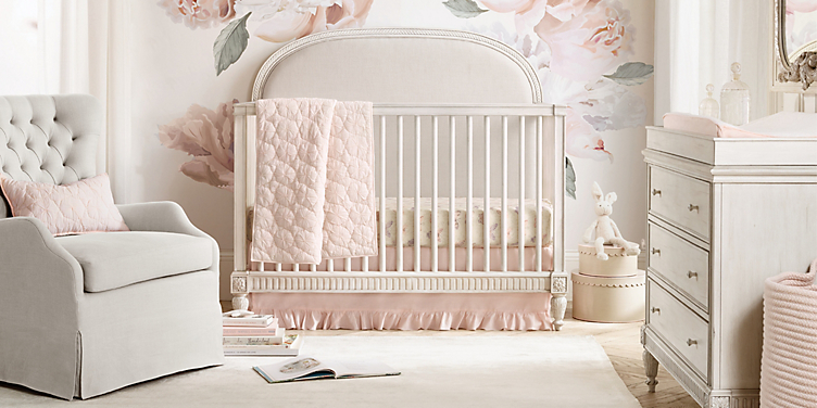 d2bf717ef Girl Nursery Collections | RH Baby & Child