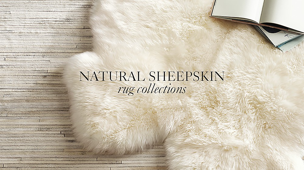 Natural Sheepskin Rugs Rh Baby Child