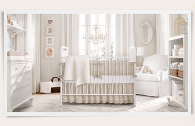 Crib hardware for sale - Iron Crib No Longer Available Millbrook Crib Distressed White