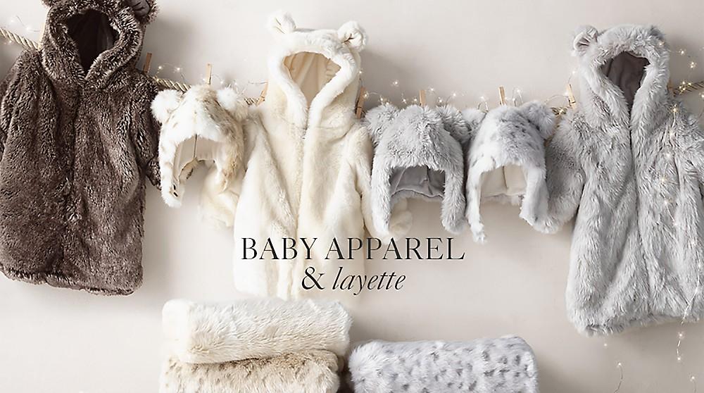 Baby Apparel & Layette | RH Baby & Child