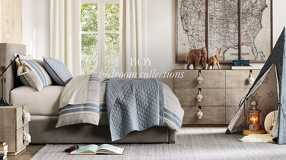 Boy Bedroom Collections | RH Baby & Child