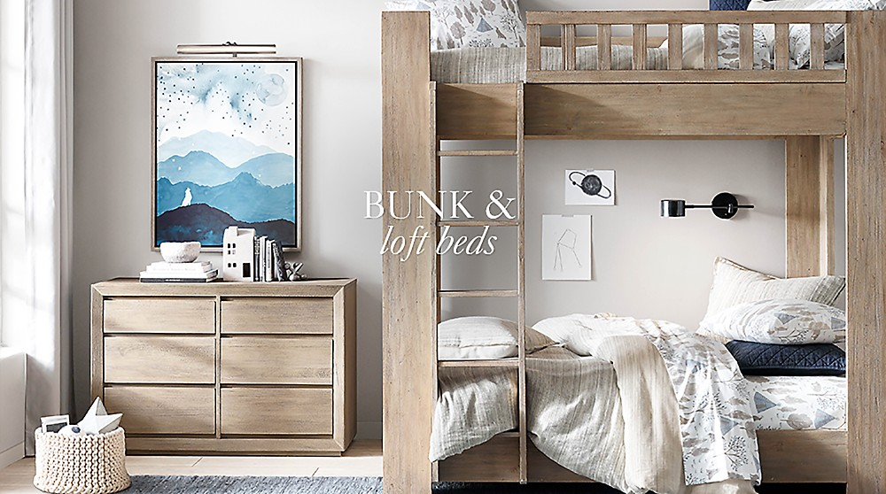 Bunk Amp Loft Beds Rh Baby Amp Child