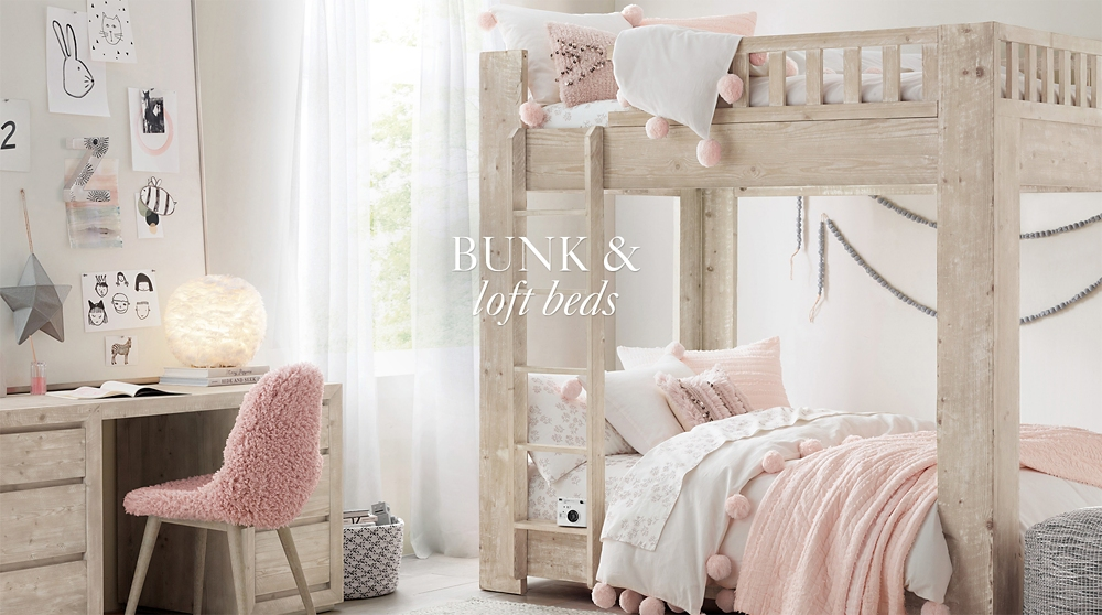 Bunk Loft Beds Rh Baby Child