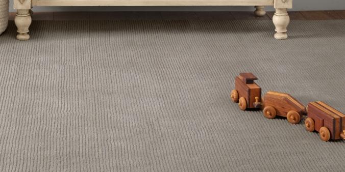 distressed wool rug | rh baby & child