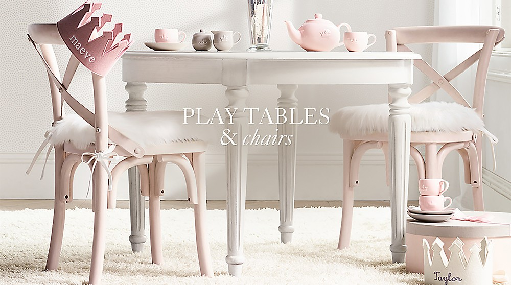 Play Tables Chairs Rh Baby Child
