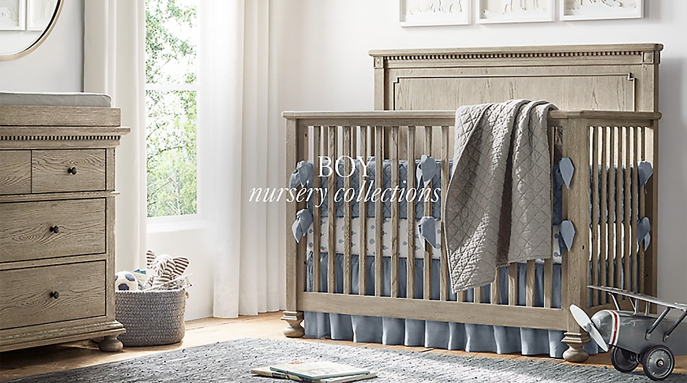 Boy Nursery Collections | RH Baby & Child