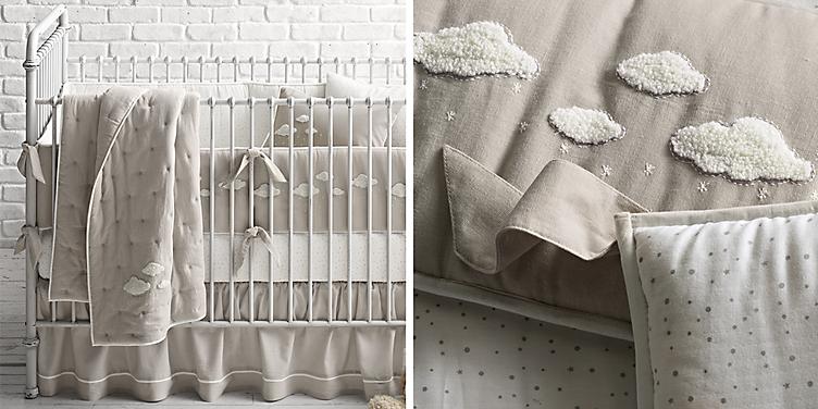 Bouclé Cloud Nursery Bedding Collection