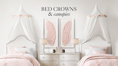 Shop Bed Crowns and Canopies  sc 1 st  RH Baby u0026 Child & Bed Crowns u0026 Canopies | RH Baby u0026 Child