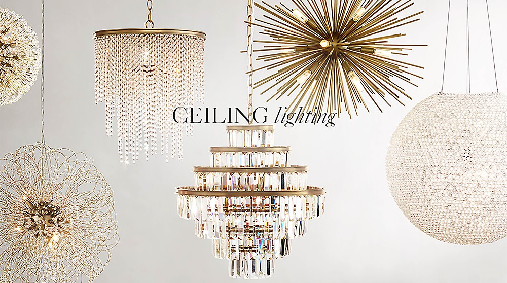 All ceiling lighting rh baby child shop ceiling lighting aloadofball