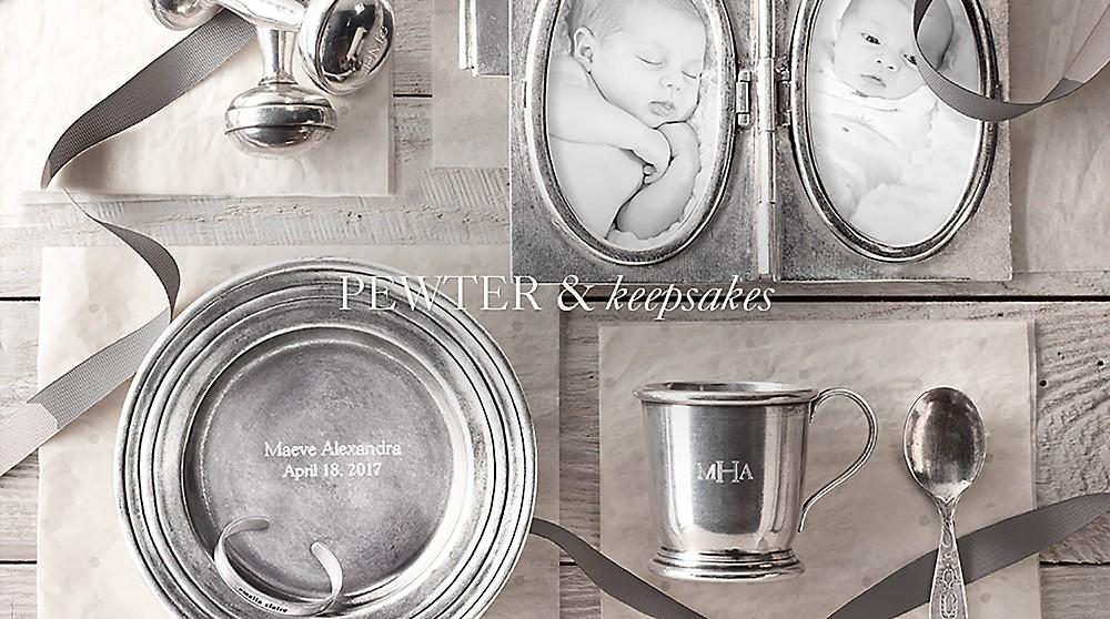 shop pewter & keepsakes