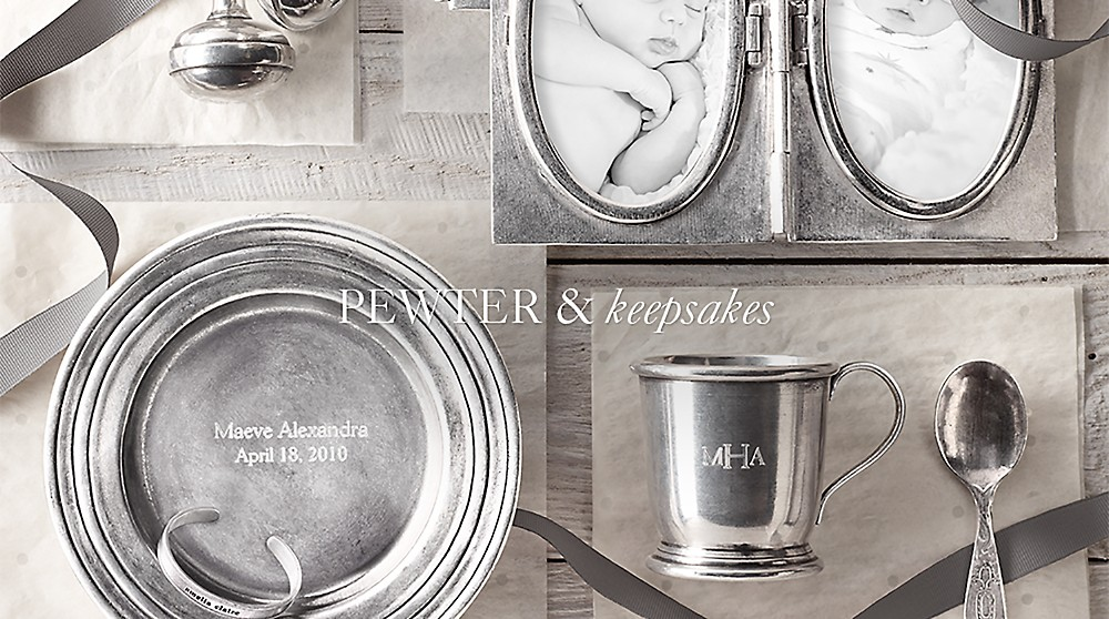 shop pewter & keepsakes