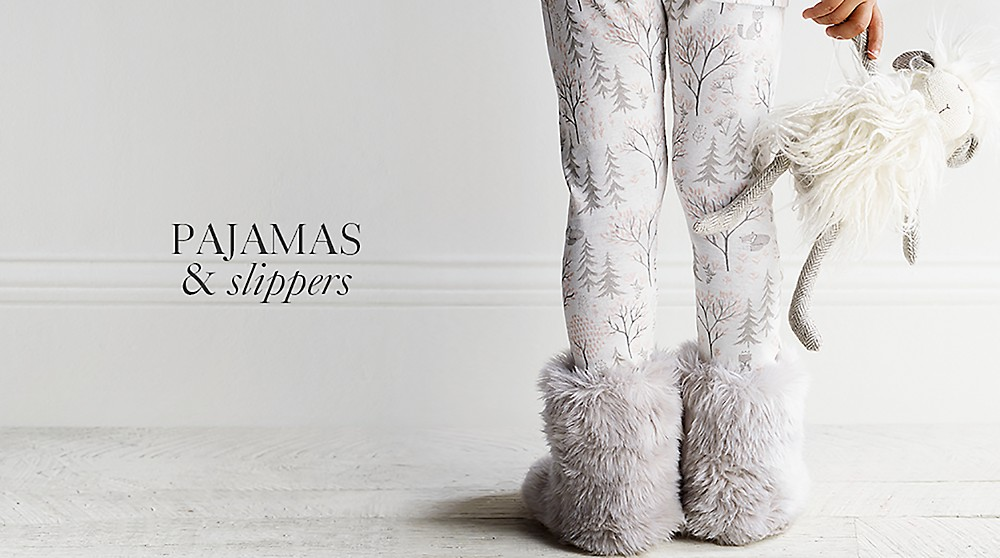 shop pajamas and slippers