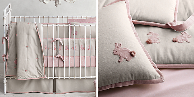 Bunny Nursery Bedding Sets Thenurseries
