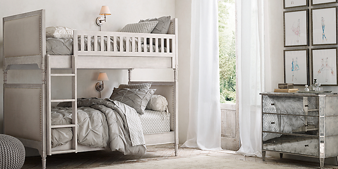 Marcelle Upholstered Bunk Bed Collection
