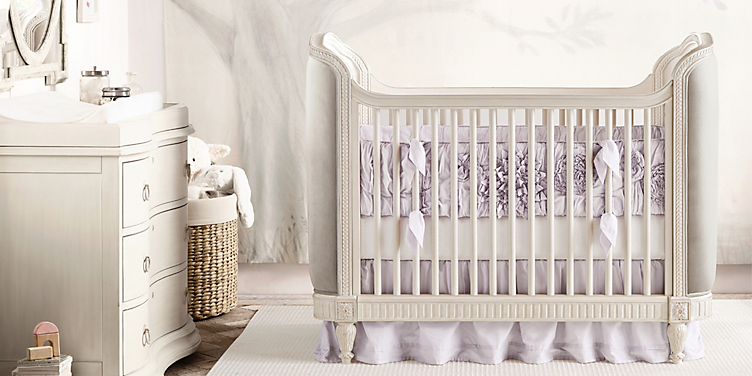 Belle Upholstered Nursery Collection Rh Baby Child