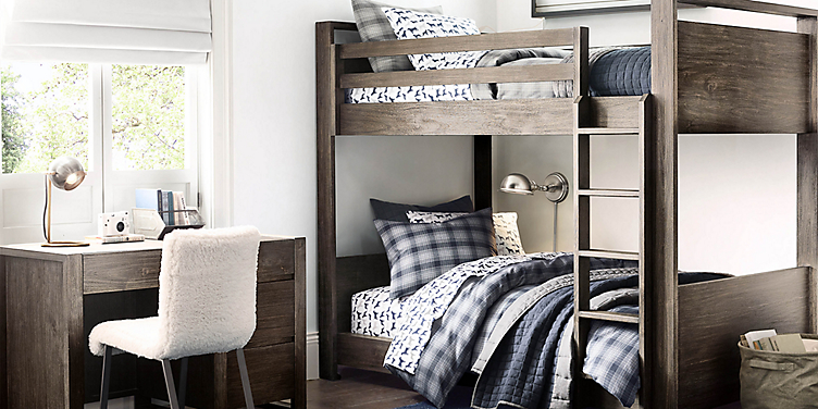 Wyler Bunk Bed Collection Rh Baby Child