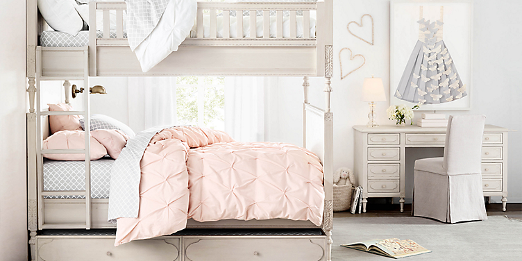 Girl Bedroom Collections Rh Baby Child