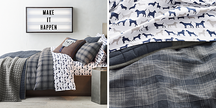 Hampstead Plaid Bedding Collection
