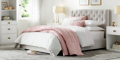 Edie Tufted Bed Collection RH Baby Child
