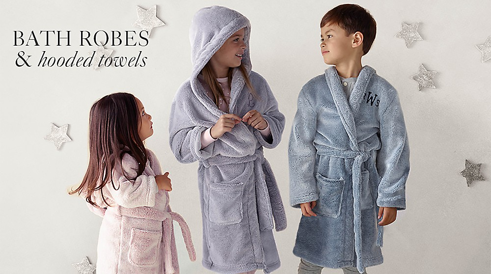 214fe74a281ca Bath Robes & Hooded Towels | RH Baby & Child