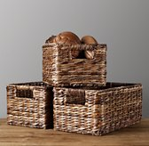 Seagrass Shelf Basket - Natural