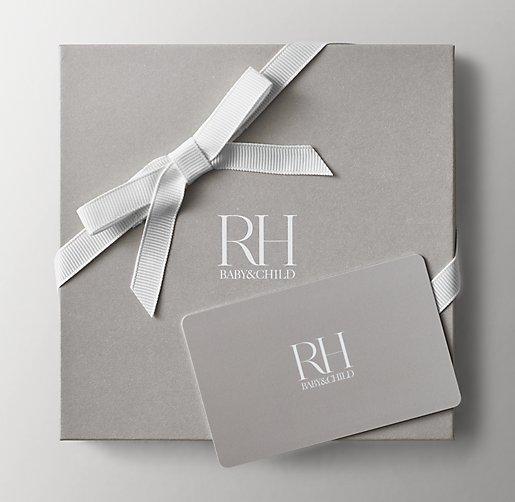 Rh Baby Child Gift Card