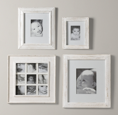 weathered frames white