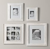 Weathered Frames - White