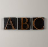 Wooden Block Letters