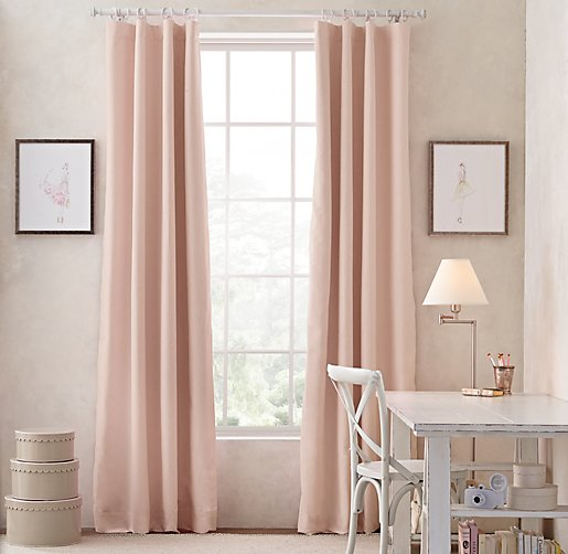 Blush Pink Curtain Panels Curtain Menzilperde Net