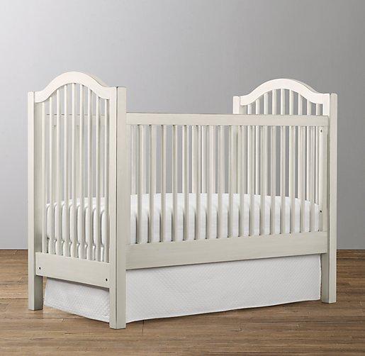 Antique Spindle Crib