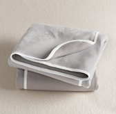 Stripe Swaddle Blanket - White