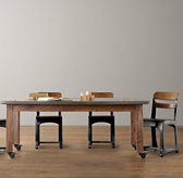 Vintage Schoolhouse Large Play Table - Espresso