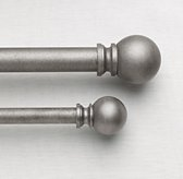 Classic Ball Finials & Rod - Pewter