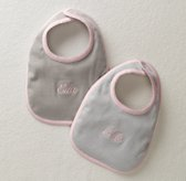 Stripe Bibs Set of 2 - Petal