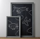 Weathered Chalkboard - Grey