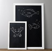 Weathered Chalkboard