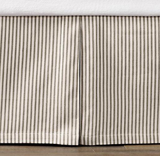 Vintage Ticking Stripe Skirt