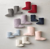 Shaggy Plush Kids' Booties