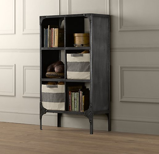Foundry Metal Cubby System Double