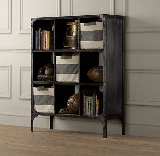 Foundry Metal Cubby System Triple