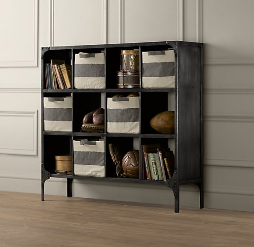 Foundry Metal Cubby System Wide