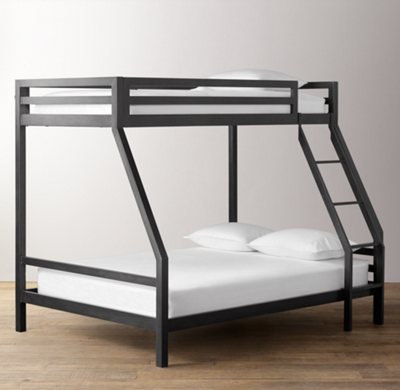 Industrial Loft TwinOverFull Bunk Bed