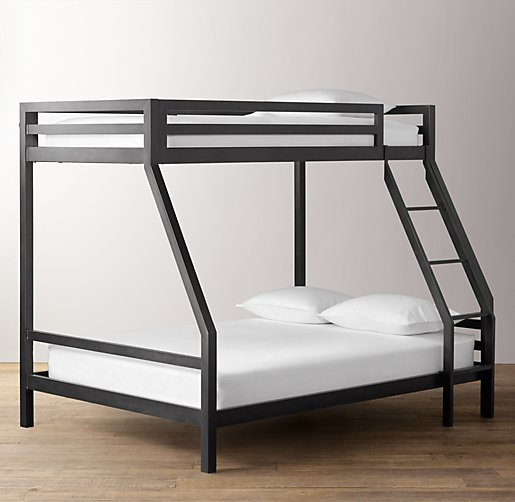industrial loft bunk bed click to zoom