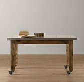Vintage Schoolhouse Small Play Table - Espresso