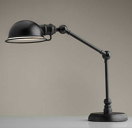 Academy task table lamp oil rubbed bronze aloadofball Choice Image