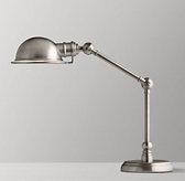 Academy Task Table Lamp - Antique Brushed Nickel